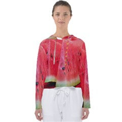 Watermelon 1 Women s Slouchy Sweat