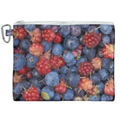Wild Berries 1 Canvas Cosmetic Bag (xxl) by trendistuff