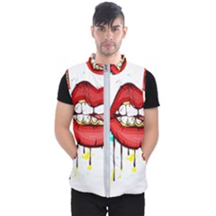Bit Your Tongue Men s Puffer Vest