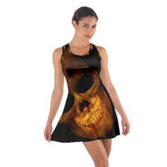 Skull Cotton Racerback Dress