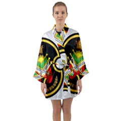 Shield Of The Imperial Iranian Ground Force Long Sleeve Kimono Robe by abbeyz71