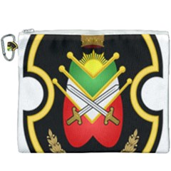 Shield Of The Imperial Iranian Ground Force Canvas Cosmetic Bag (xxxl) by abbeyz71