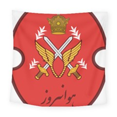 Seal Of The Imperial Iranian Army Aviation  Square Tapestry (large) by abbeyz71