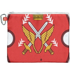 Seal Of The Imperial Iranian Army Aviation  Canvas Cosmetic Bag (xxxl) by abbeyz71