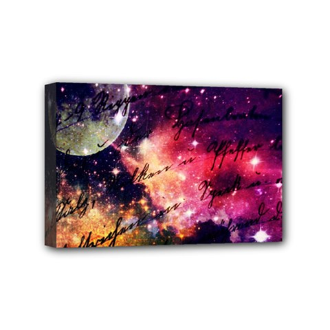 Letter From Outer Space Mini Canvas 6  X 4  by augustinet