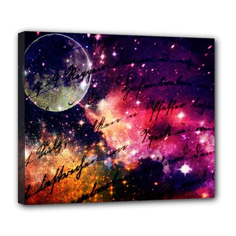 Letter From Outer Space Deluxe Canvas 24  X 20   by augustinet