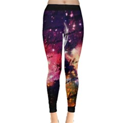 Letter From Outer Space Leggings  by augustinet