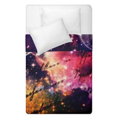 Letter From Outer Space Duvet Cover Double Side (single Size) by augustinet