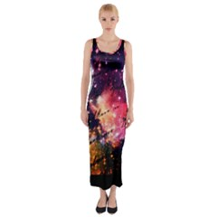 Letter From Outer Space Fitted Maxi Dress by augustinet