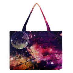 Letter From Outer Space Medium Tote Bag by augustinet