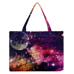 Letter From Outer Space Zipper Medium Tote Bag by augustinet