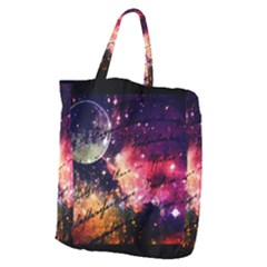 Letter From Outer Space Giant Grocery Zipper Tote by augustinet