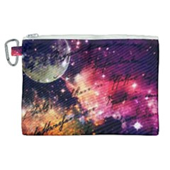 Letter From Outer Space Canvas Cosmetic Bag (xl) by augustinet