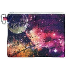 Letter From Outer Space Canvas Cosmetic Bag (xxl) by augustinet