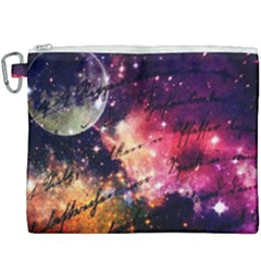 Letter From Outer Space Canvas Cosmetic Bag (xxxl) by augustinet