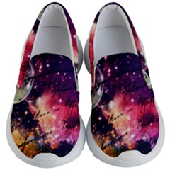Letter From Outer Space Kid s Lightweight Slip Ons by augustinet