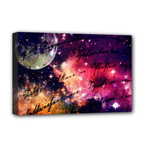 Letter From Outer Space Deluxe Canvas 18  X 12   by augustinet