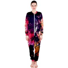 Letter From Outer Space Onepiece Jumpsuit (ladies)  by augustinet