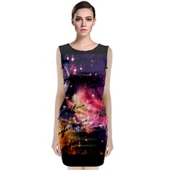 Letter From Outer Space Classic Sleeveless Midi Dress by augustinet