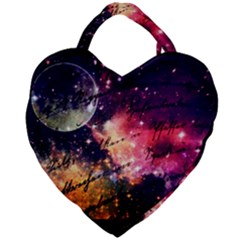 Letter From Outer Space Giant Heart Shaped Tote