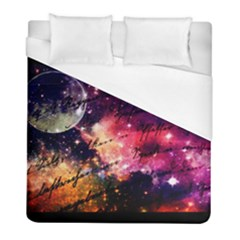 Letter From Outer Space Duvet Cover (full/ Double Size) by augustinet