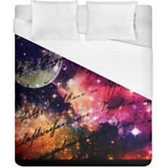 Letter From Outer Space Duvet Cover (california King Size) by augustinet