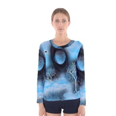 Space River Women s Long Sleeve Tee by augustinet