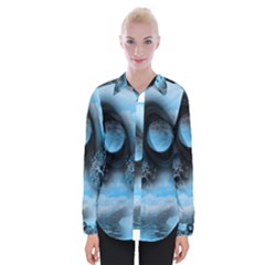 Space River Womens Long Sleeve Shirt by augustinet