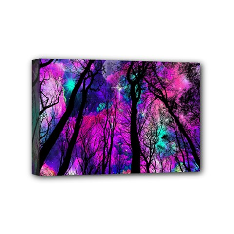 Magic Forest Mini Canvas 6  X 4  by augustinet