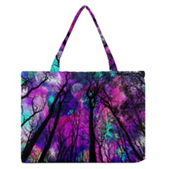 Magic Forest Zipper Medium Tote Bag by augustinet