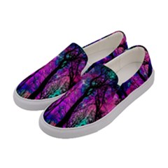 Magic Forest Women s Canvas Slip Ons by augustinet