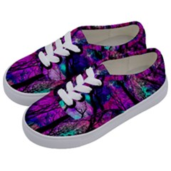 Magic Forest Kids  Classic Low Top Sneakers by augustinet