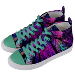Magic Forest Women s Mid Top Canvas Sneakers by augustinet