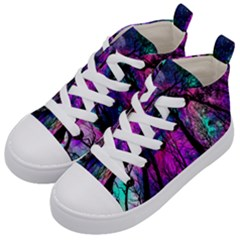 Magic Forest Kid s Mid Top Canvas Sneakers by augustinet