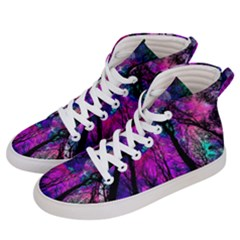 Magic Forest Women s Hi Top Skate Sneakers by augustinet