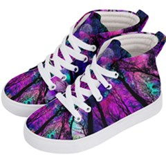 Magic Forest Kid s Hi Top Skate Sneakers by augustinet