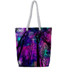 Magic Forest Full Print Rope Handle Tote (small) by augustinet