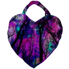Magic Forest Giant Heart Shaped Tote by augustinet