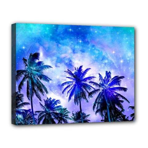 Summer Night Dream Canvas 14  X 11  by augustinet