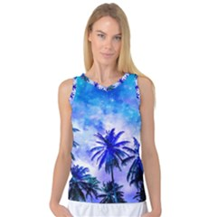 Summer Night Dream Women s Basketball Tank Top by augustinet