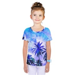 Summer Night Dream Kids  One Piece Tee