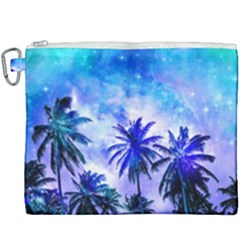 Summer Night Dream Canvas Cosmetic Bag (xxxl) by augustinet