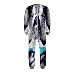 Purple Eyes Cat Onepiece Jumpsuit (kids) by augustinet