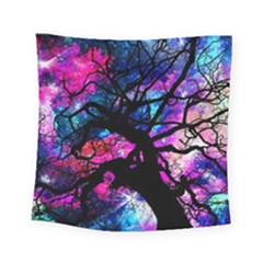 Star Field Tree Square Tapestry (small) by augustinet