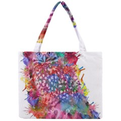 Rainbow Owl Mini Tote Bag by augustinet