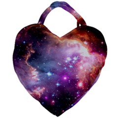 Deep Space Dream Giant Heart Shaped Tote by augustinet