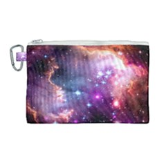 Deep Space Dream Canvas Cosmetic Bag (large) by augustinet