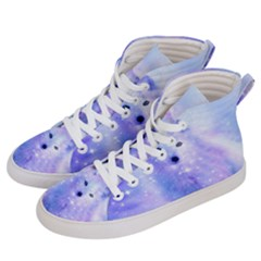 Arctic Iceland Fox Women s Hi Top Skate Sneakers by augustinet
