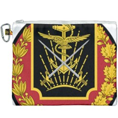 Logo Of Imperial Iranian Ministry Of War Canvas Cosmetic Bag (xxxl) by abbeyz71