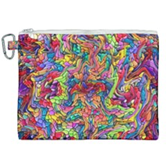 Colorful 12 Canvas Cosmetic Bag (xxl) by ArtworkByPatrick